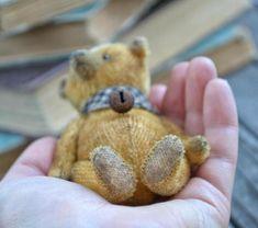 Bear Vilson by Olga Andryushenko | Tedsby Dear Friend, Teddy Bear, Fur, Gifts, Presents, Teddy Bears, Favors, Feather, Fur Coat