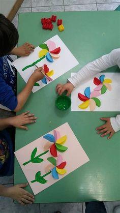Easter Arts And Crafts, Spring Crafts For Kids, Bunny Crafts, Diy Crafts For Kids, Projects For Kids, Diy Crafts Videos, Diy Crafts To Sell, Toddler Crafts, Preschool Crafts