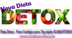 DIETA DETOX DE 07 DIAS PARA ACELERAR O EMAGRECIMENTOA Dieta Detox contribui para eliminar as toxinas causadas pelo consumo exagerado de açúcar refinado, gorduras saturadas,trans, hidrogenadas, alimentos industrializados, álcool, cigarro.Essas toxinas que são responsáveis pela baixa imunidade, nervosismo, má digestão, obesidade, dores de cabeça, insônias, etc.A Dieta Desintoxicante deixa o ...