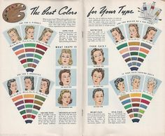 Best Color For Your Type - DuBarry Short Cuts to Sewing Success 1945