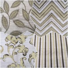 Citronella Green - Color for this season- use these contemporary rich luxurious fabrics to decorate your den. Only on fabricmart! Convo for custom drapes using these fabric designs.