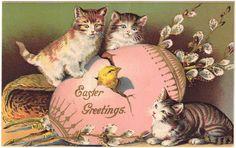 Vintage Easter postcard. (Postcardranch.com)
