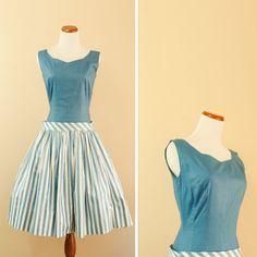 cute 40s day dress