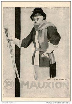 Original-Werbung/Inserat/ Anzeige 1925 - 1/1-SEITE - MAUXION SCHOKOLADE - ca. 250 X 180 mm