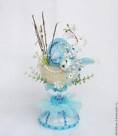 Купить Интерьерная композиция Пасхальная , декор к Пасхе, подарок на Пасху. - пасхальный подарок, пасхальный сувенир