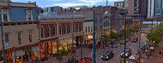 Larimer Square - Unique shops and restaurants