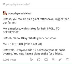 DnD Dump - Imgur Tumblr Funny, Funny Memes, Hilarious, Jokes, Story Prompts, Writing Prompts, Dnd Stories, Dungeons And Dragons Game, Dnd Funny