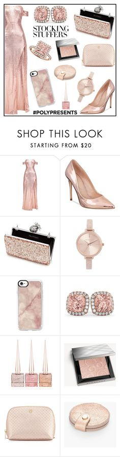 """""""#PolyPresents: Stocking Stuffers"""" by tlb0318 on Polyvore featuring ALDO, Miss Selfridge, Michael Kors, Casetify, Allurez, Christian Louboutin, Burberry, Tory Burch and Chico's"""