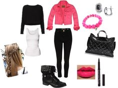 """""""Outfit."""" by i-love-idk ❤ liked on Polyvore"""