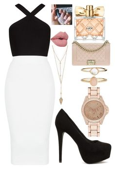 """""""Untitled #70"""" by lauriemiles on Polyvore featuring Accessorize, Chanel, Avon, River Island, BCBGMAXAZRIA and Nly Shoes"""