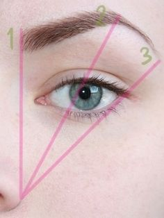 brow shaping guide... Seriously everyone needs to go by this..