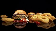 Food Photography Styling, Food Styling, Nigerian Food, Eating Fast, Food Advertising, Food Platters, Burger, Foods To Eat, Onion Rings
