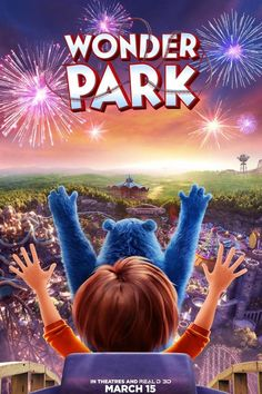 High resolution official theatrical movie poster ( of for Wonder Park Image dimensions: 1922 x Starring Matthew Broderick, Jennifer Garner, Kenan Thompson, Ken Jeong Movies 2019, Top Movies, Movies To Watch, Imdb Movies, Creative Girl Names, John Oliver, Imitation Game, Ken Jeong, Rambo
