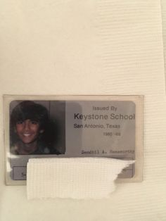 """""""#tbt to my 5th grade school i.d. where I look like a 10 year old girl."""""""