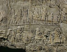 The Assyrian siege and conquest of the town of Lachish, which occurred in 701 BC, is documented in the Hebrew Bible, Assyrian documents and in the Lachish relief, and a well-preserved series of reliefs which once decorated the Assyrian king Sennacherib's palace at Nineveh.  Lachish, one of the fortress towns protecting the approaches to Jerusalem, and is mentioned in the Hebrew Bible (II Kings 18; II Chronicles 32)( MICAH 1:13 ) and in the Annals of the Assyrian king, Sennacherib.