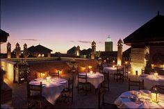 La Sultana Marrakech: Restaurant