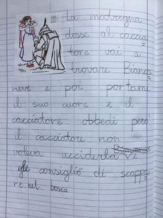 Quaderno di italiano classe 2^ La fiaba Learning Italian, Math Equations, Education, 3, Blog, Montessori, Learn Italian Language, Blogging, Onderwijs