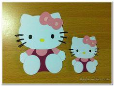 hello kitty craft | Hello Kitty Die-cuts