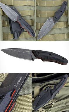 Boker 02BO002 Plus Mako Fixed Knife Blade with 440C Stainless Steel Blade @aegisgears