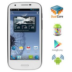 Triton - Android 4.1 Dual Core CPU Smartphone with 4.6 Inch Capacitive Touchscreen (Dual SIM, GPS, 3G,WiFi) – USD $ 164.99