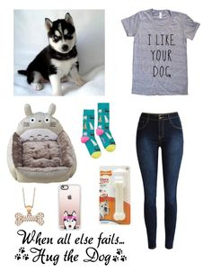 """""""Playing with my pup"""" by be-robinson ❤ liked on Polyvore featuring Allurez, Joules and Casetify"""