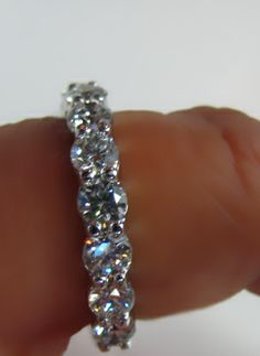 20 point eternity band...Love this wedding band