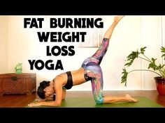 Yoga For Weight Loss & Belly Fat, Complete Beginners Fat Burning Workout At Home