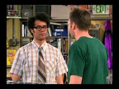 The IT Crowd US pilot episode - Strange. But it still has the same guy as Moss... and Joel McHale<<<-----pinning for later.