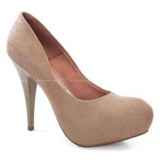 Scarpin Vizzano com acabamento simples e com designer atraente, proporcionando beleza e estilo ao sapato!