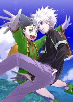 Gon and killua3 hunter x hunter killugon pinterest manga voltagebd Gallery