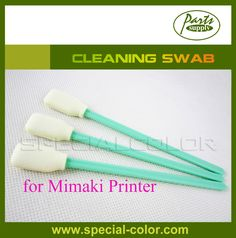 100PCS Quality Cleaning Swab for mimaki indoor & outdoor inkjet printer Clean Stick