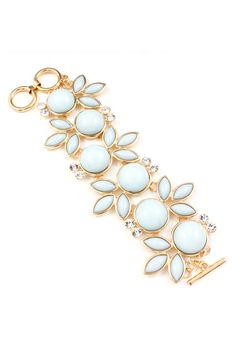 Aspen Blue Madeline Bracelet on Emma Stine Limited