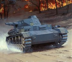 Panzer IV de la 4 División Panzer, Operación Barbarroja, 1.941. Arcadius Wróbel. Más en www.elgrancapitan.org/foro/