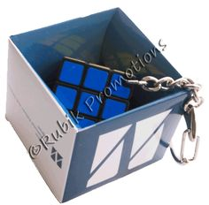 Rubik's promo keychain