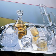Enjoy whisky in a glass of the purest and clearest crystal. ZANZIBAR Barware Set