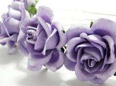 Hey, I found this really awesome Etsy listing at https://www.etsy.com/listing/111495429/lavender-lilac-rose-floral-hair-pin-set