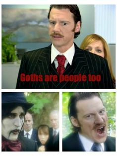 Goths Are People Too - Jen, IT Crowd