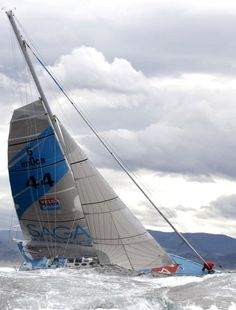 Sir Robin Knox-Johnston completed his second solo circumnavigation of the world in the yacht SAGA Insurance on May 4, 2007