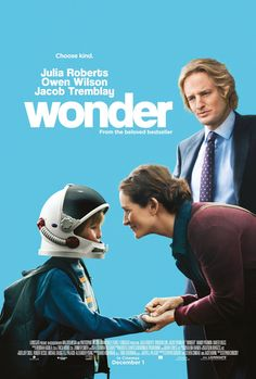 Wonder: A film for the whole family! - A Modern Mother Movies And Series, Hd Movies, Film Movie, Movies Online, Bon Film, Cult, Julia Roberts, New Poster, About Time Movie