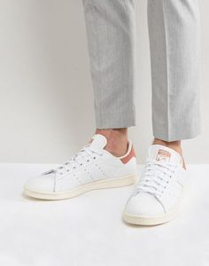 c1aa823630fdf7 adidas Originals Stan Smith Trainers In White CP9702