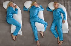 Snoozer Full Body Pillow Sleeping Positions