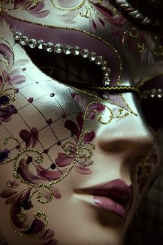 . Magical mystery, the beauty of Venetian masks for theatre or costume, fancy these for your wedding Grimm and fairy followers.
