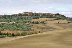 Pienza, Tuscany; a World Heritage Site