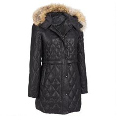 Andrew Marc Quilted Diamond Coated Down Parka w/ Coyote Fur Trimmed Hood $549.99                      Our Price Now:                                           $1,150.00                      Comp Value Was: