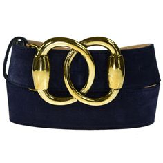 Hand made in England from solid brass, this 40mm brass buckle looks amazing on this Italian, leather lined and stitched 30mm navy blue suede belt.