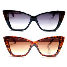 Angular Sandy Fifties Sunglasses