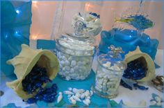Under the sea candy buffet themed table, Auckland