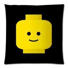 LEGO HEAD Pillow Case Throw BEDROOM