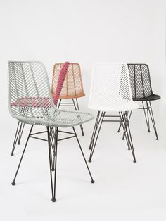 NEW in the Leitmotiv collection of Presenttime; chairs. #leitmotivfurniture #presenttimebv