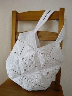 Nevěsta na útěku - háčkovaná taška